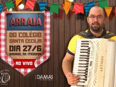 Live - Arraiá do Colégio Santa Cecília - 27/06
